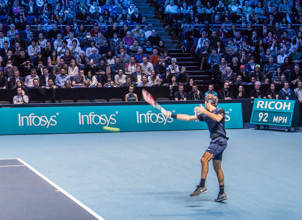 Roger Federer na Turnaji mistrů 2015